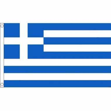 Griekse mega vlag 150 x 240 cm