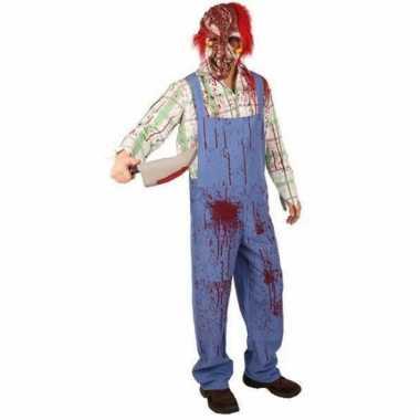 Griezelig zombie kostuum
