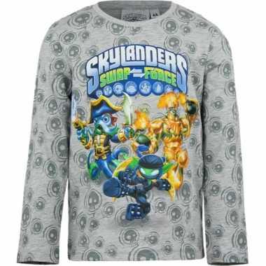 Grijs skylander kinder t-shirt