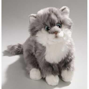 Grijze cyprese katten knuffel