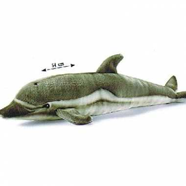 Grijze knuffel dolfijnen van pluche