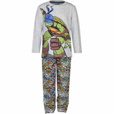 Grijze ninja turtles pyjama