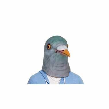 Grijze vogel duiven masker