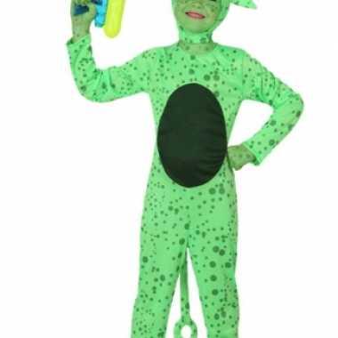Groen alien kostuum kinderen