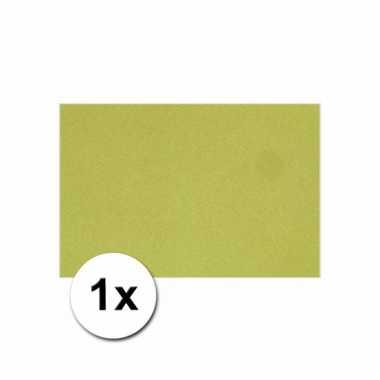 Groen knutsel karton a4