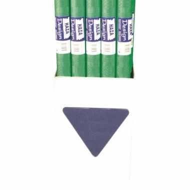 Groen tafelkleed papier 8 meter