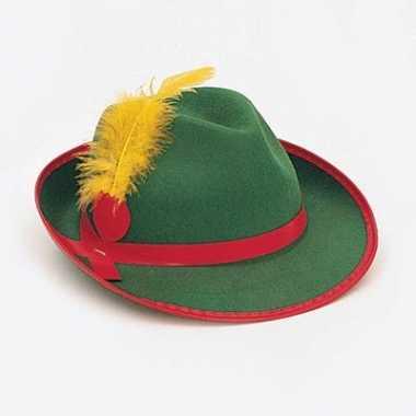 Groene bierfeest hoed