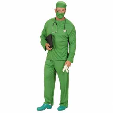 Groene chirurg outfit