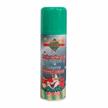 Groene haarverf spuitbus