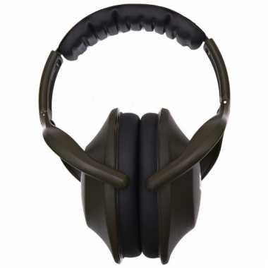 Groene oorbeschermers