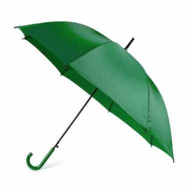 Groene paraplu 107 cm polyester/kunststof