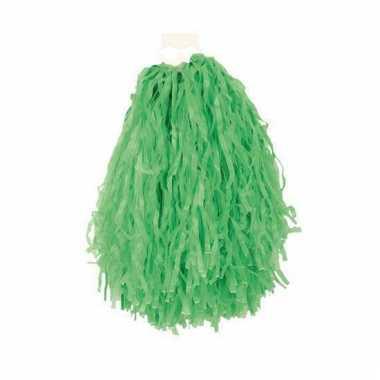 Groene pompoms 28 cm