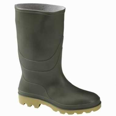 Groene rubber laarzen voor heren