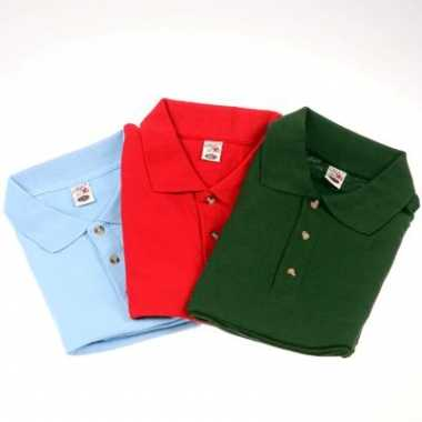 Grote maten polo shirt 3-pack