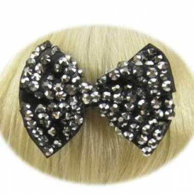 Haarstrikken zwart voor dames