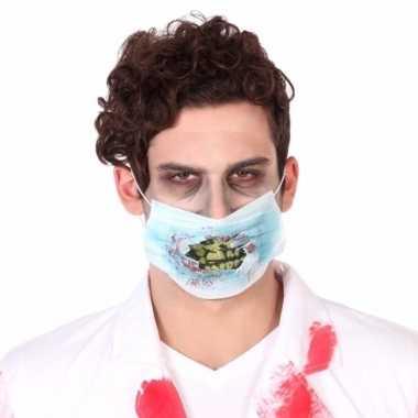 Halloween chirurgen mondkap