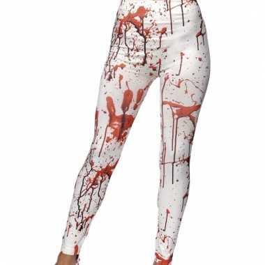 Halloween dames leggings met bloed
