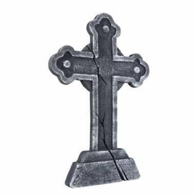 Halloween decoratie kruis grafstenen 60 cm