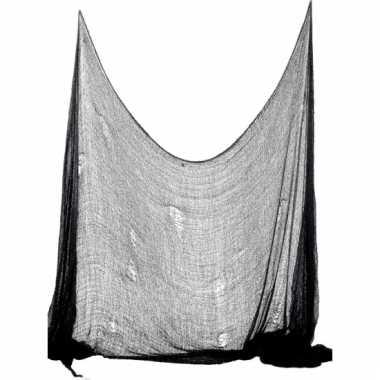 Halloween doek zwart 75 x 300 cm