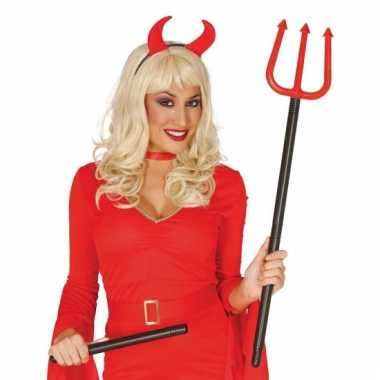 Halloween duivelsvork 110 cm