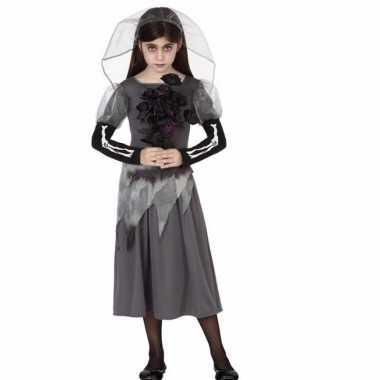 Halloween zombie bruid voor meisjes