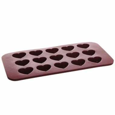 Hartjes cupcakes bakvorm