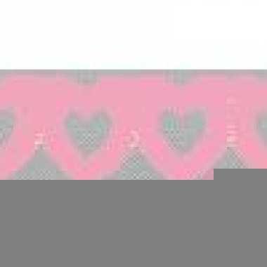 Hartjes slinger roze
