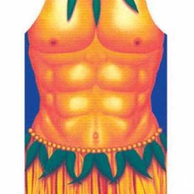 Hawaii barbeque schorten man