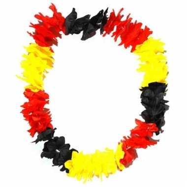 Hawaii slinger zwart/geel/rood