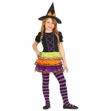 Heksen verkleedkleding brujita voor meiden