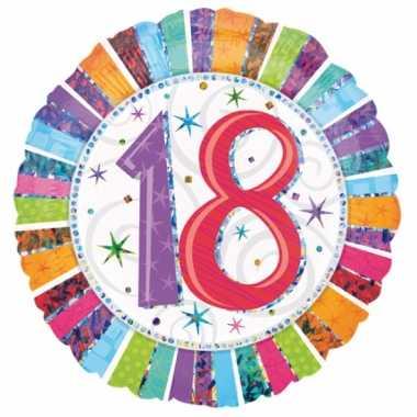 Helium ballon 18 jaar