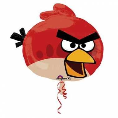 Helium ballon van folie van angry birds