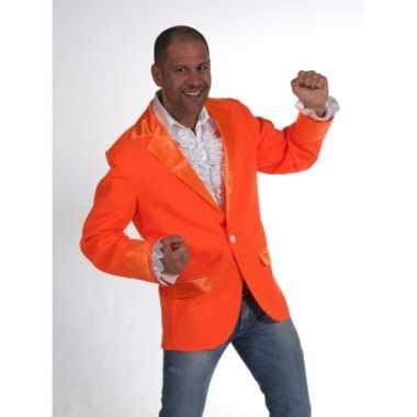 Heren colbert oranje