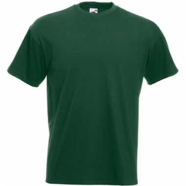 Heren fruit of the loom t-shirt donke