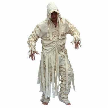 Heren mummie kostuum