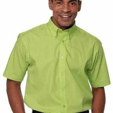 Korte Mouw Overhemd Mannen.Heren Overhemd Korte Mouw Afgeprijsd Net