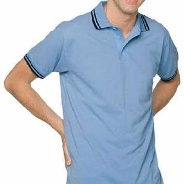 Heren poloshirt tipped