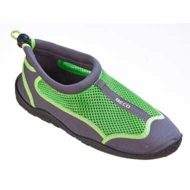 Heren waterschoenen groen