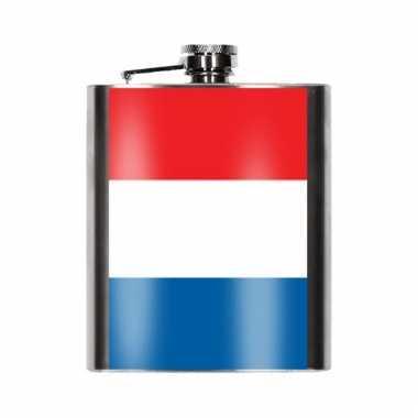 Heupflessen franse vlag 200 ml