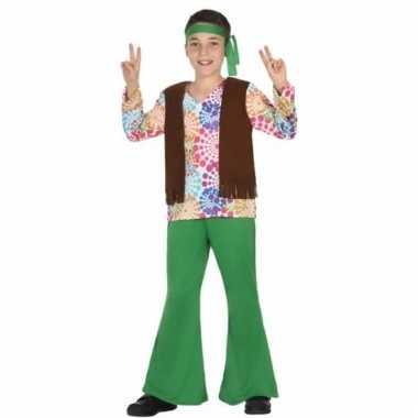 Hippie 60s verkleedkostuum voor jongens