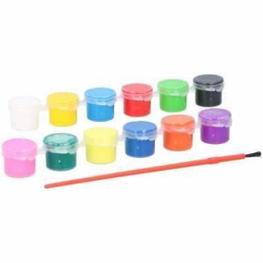 Hobby allesverf acryl 12 kleuren