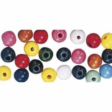 Hobby kralen gekleurd 16 mm