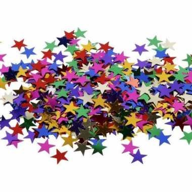 Hobby materialen sterren pailletten 10 gr