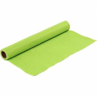 Hobbyvilt in de kleur licht groen 1,5 mm dik