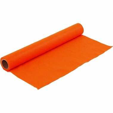Hobbyvilt in de kleur oranje 1,5 mm dik