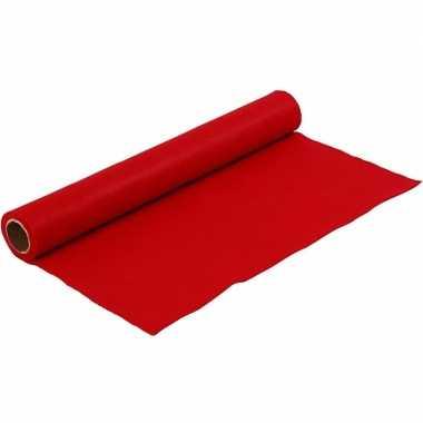Hobbyvilt in de kleur rood 1,5 mm dik