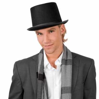 Hoge zwarte hoeden