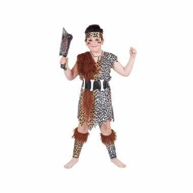 Holbewoner verkleed kostuum voor kinderen