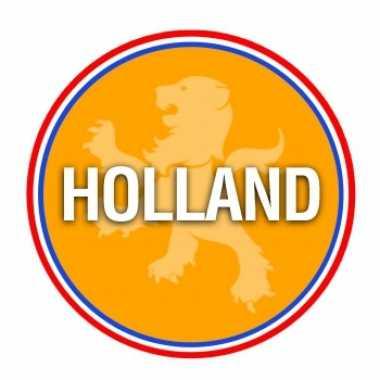 Holland oranje print bierviltjes