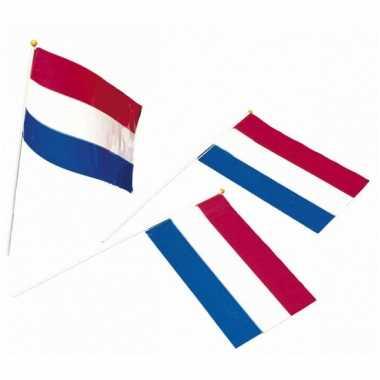 Holland papieren zwaaivlaggetje